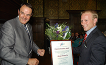 Winnaar Communication Award 2004